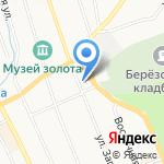 Единая дежурно-диспетчерская служба Березовского городского округа на карте Берёзовского