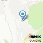 Древстрой на карте Берёзовского