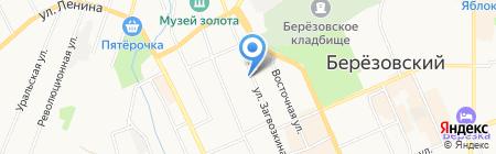 Управление Федеральной службы государственной регистрации на карте Берёзовского
