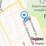 Территориальный отдел №2 на карте Берёзовского