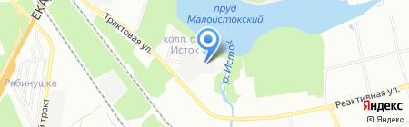 Евро-сервис на карте Екатеринбурга