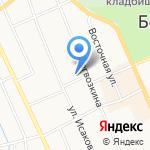 Золотая горка на карте Берёзовского