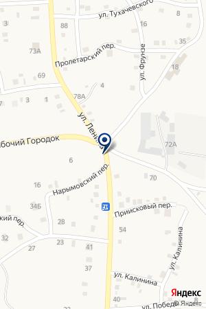 АЗС N 114 ЛУКОЙЛ на карте Пласта