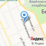Сбербанк на карте Берёзовского