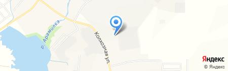Автостоянка на Колхозной на карте Бородулино