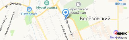 Информационные решения на карте Берёзовского