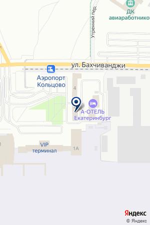 ДОКЕР на карте Екатеринбурга