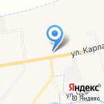 Уральский Лес на карте Арамиля