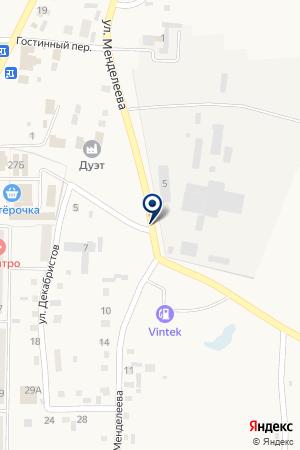 АЗС на карте Пласта