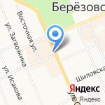Русский фейерверк на карте Берёзовского