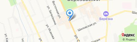 Суши Wok на карте Берёзовского