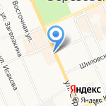 Fix price на карте Берёзовского