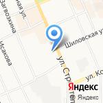 Магазин автозапчастей и аксессуаров ВАЗ на карте Берёзовского
