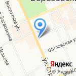 Отливы66.ру на карте Берёзовского