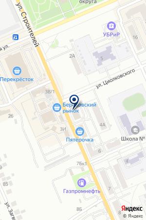 И.П. АПАРИНА Е.Р. на карте Березовского