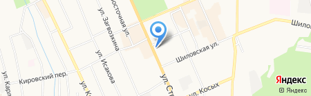 Вознесенский центр-Березовский на карте Берёзовского