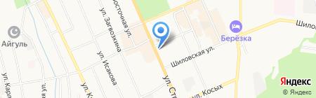 Алир на карте Берёзовского