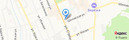 Продуктовый магазин на карте Берёзовского