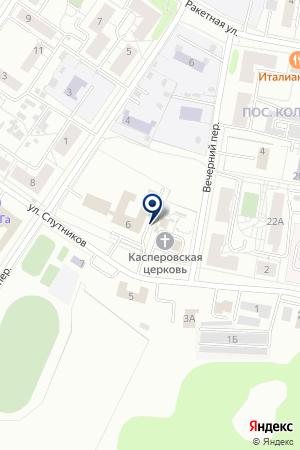 Церковная лавка на карте Екатеринбурга