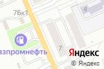 Схема проезда до компании ГИБДД в Берёзовском