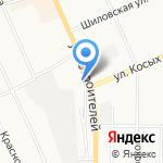 Автокомплекс на карте Берёзовского