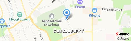 ХАРОН на карте Берёзовского
