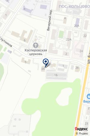 Авиатор на карте Екатеринбурга