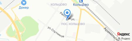 Детский сад №527 на карте Екатеринбурга