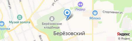 НИКА на карте Берёзовского