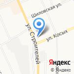 Прокуратура г. Березовского на карте Берёзовского