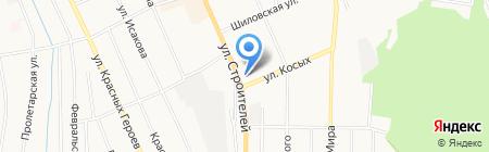 ЖЭУ №1 на карте Берёзовского