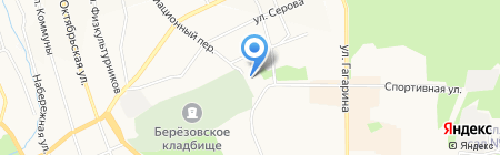 ВостокСтройТехнология на карте Берёзовского