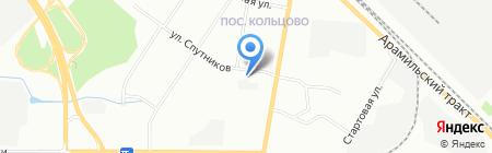 Свердловская АВТОшкола на карте Екатеринбурга