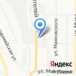 Авента на карте Берёзовского