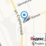 Детский сад №4 на карте Берёзовского
