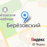 Олимп на карте Берёзовского