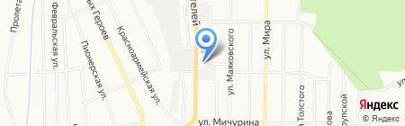 Гаммамет на карте Берёзовского