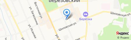 УФК на карте Берёзовского