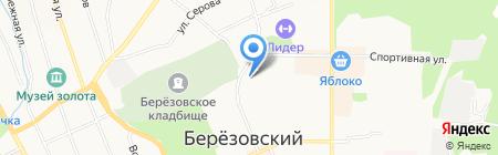 Миг на карте Берёзовского