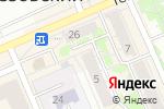 Схема проезда до компании Sale Barry в Берёзовском