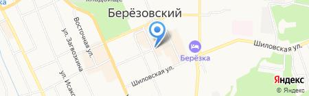 Эгоистка на карте Берёзовского