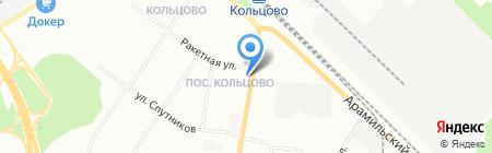 Живика на карте Екатеринбурга