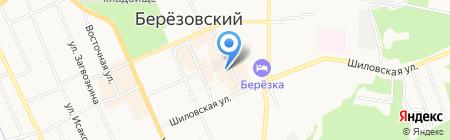 Праздничное настроение на карте Берёзовского