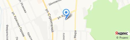 Луч на карте Берёзовского