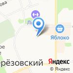 Кроха на карте Берёзовского