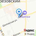 Жилторгсервис на карте Берёзовского
