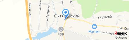 Магазин строительных материалов на ул. Маяковского на карте Бородулино