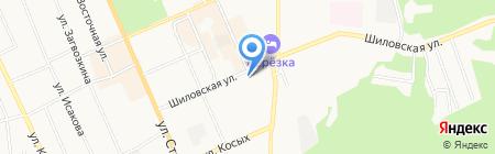 Антес на карте Берёзовского