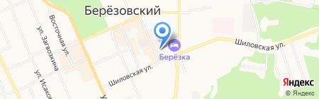 Недвижимость Урала-Березовский на карте Берёзовского