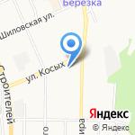 Dverkino на карте Берёзовского